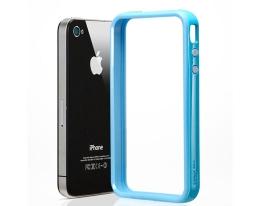 Кейс SGP Neo Hybrid EX голубой для iPhone 4