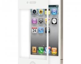 Защитная пленка Moshi iVisor белая матовая для iPhone 4