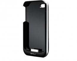 Дополнительная батарея Mili Power Spring 4 2000mAh для iPhonе 4 black
