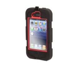 Чехол Griffin Survivor Red/Black для iPhone 4 / 4S