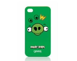 Кейс Angry Birds Space King Pig Green для iPhone 4 / 4S