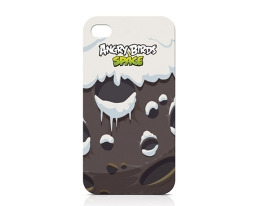Кейс Angry Birds Space Planet Snow для iPhone 4 / 4S