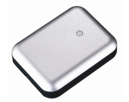 Дополнительный аккумулятор Just Mobile Gum Plus серебристый 5200 mAh для iPad / iPhone / iPod