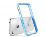Бампер SGP Neo Hybrid 2S Pastel голубой для iPhone 4 / 4S