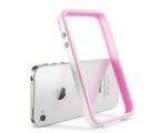 Бампер SGP Neo Hybrid 2S Pastel Alpine розовый для iPhone 4 ...