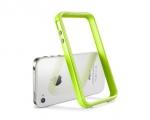Бампер SGP Neo Hybrid 2S Pastel лимоновый для iPhone 4 / 4S