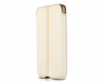 Чехол Beyza Zero Leather White - iPhone 4 / 4S