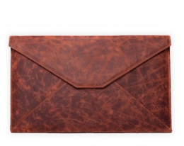 Чехол Dublon Envelope dark brown - MacBook Air 13