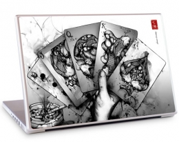 Декоративная пленка GelaSkins Royal Flush - MacBook Pro 13