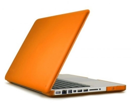 """Кейс Speck SeeThru Satin Clementine - MacBook Pro 15"""""""
