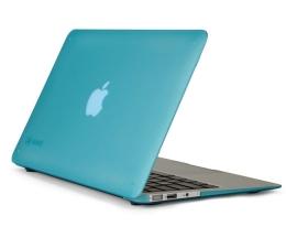 "Кейс Speck SeeThru Satin Peacock Blue - MacBook Air 13"""