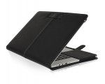 Кожаный чехол Decoded Leather Slim Cover Black - MacBook Pro...