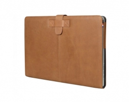 Кожаный чехол Decoded Leather Slim Cover Brown - MacBook Pro Retina 13""