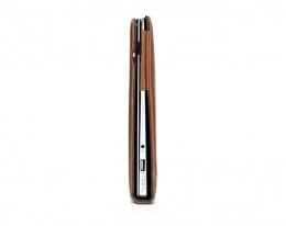 "Кожаный чехол Decoded Leather Slim Cover Brown - MacBook Air 13"""