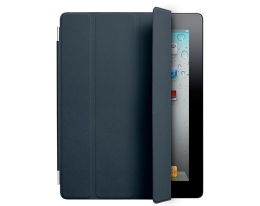 Чехол Apple Smart Cover Leather Navy - iPad 3 / iPad 4