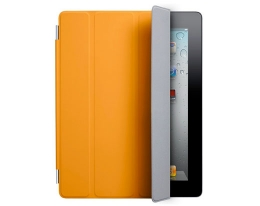 Чехол Apple Smart Cover Polyurethane Orange - iPad 3 / iPad 4