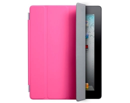 Чехол Apple Smart Cover Polyurethane Pink - iPad 3 / iPad 4