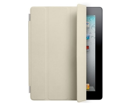 Чехол Apple Smart Cover Leather Cream - iPad 3 / iPad 4