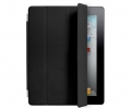 Чехол Apple Smart Cover Leather Black - iPad 3 / i...