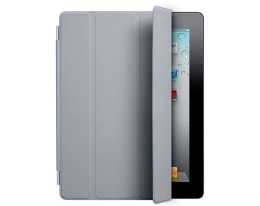 Чехол Apple Smart Cover Polyurethane Light Gray - iPad 3 / iPad 4
