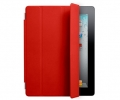Чехол Apple Smart Cover Leather Red - iPad 3 / iPa...