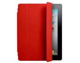 Чехол Apple Smart Cover Leather Red - iPad 3 / iPad 4