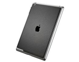 Декоративная пленка SGP Skin Guard Carbon Black - iPad 3 / iPad 4