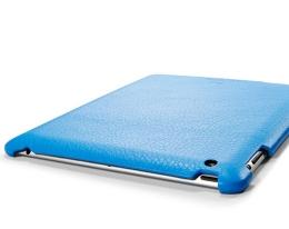 Кейс кожаный SGP Griff синий для iPad 2