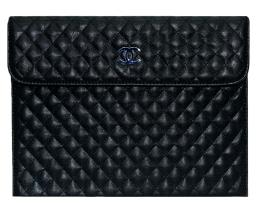 Чехол Minjes Chanel черный для iPad (IP-5)
