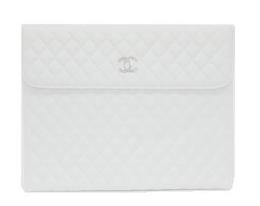 Чехол Minjes Chanel белый для iPad (IP-2)