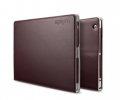 Чехол SGP Folio S dark brown - iPad 3 / iPad 4