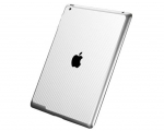 Декоративная пленка SGP Skin Guard Carbon White - iPad 3 / i...