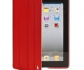 Чехол Jisoncase Executive Smart Cover Red - iPad 2...