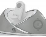 Акустическая система JBL On Beat White - iPhone 4 / 4S