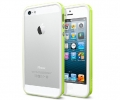 Бампер SGP Neo Hybrid EX Slim Snow Lime - iPhone 5...
