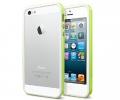 Бампер SGP Neo Hybrid EX Slim Snow Lime - iPhone 5