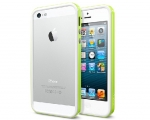 Бампер SGP Neo Hybrid EX Slim Snow Lime - iPhone 5/5s/SE