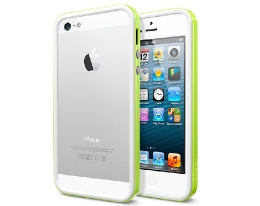 Бампер SGP Neo Hybrid EX Slim Snow Lime - iPhone 5/5s/SE