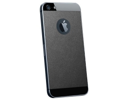Декоративная пленка SGP Skin Guard Leather Black - iPhone 5/5s/SE