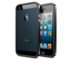 Бампер SGP Neo Hybrid EX Slim Vivid Soul Black - iPhone 5/5s...