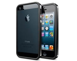 Бампер SGP Neo Hybrid EX Slim Vivid Soul Black - iPhone 5/5s/SE