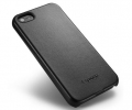 Чехол SGP Genuine Leather Grip Black - iPhone 5