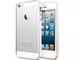 Бампер SGP Neo Hybrid EX Slim Snow Infinity White - iPhone 5...