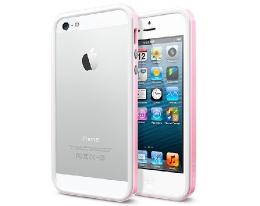 Бампер SGP Neo Hybrid EX Slim Snow Sherbet Pink - iPhone 5/5s/SE