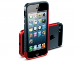 Бампер SGP Linear EX Slim Metal Red - iPhone 5/5s/SE
