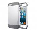 Чехол SGP Slim Armor Silver - iPhone 5