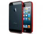 Бампер SGP Neo Hybrid EX Slim Vivid Dante Red - iPhone 5/5s/...