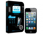 Стекло SGP GLAS.t SLIM Premium Tempered Glass - iPhone 5/5s/...