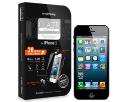 Стекло SGP GLAS.tR SLIM Premium Tempered Glass - iPhone 5/5s/SE