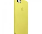 Оригинальный чехол Apple Case для iPhone 5/5S Yellow